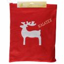 Geschenktasche Fleece Weihnachten