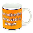 Kaffeebecher mit Spruch