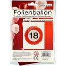 Folienballon 18ter Geburtstag