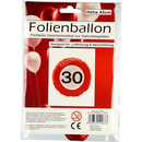 Folienballon 30ter Geburtstag