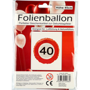 Folienballon 40ter Geburtstag