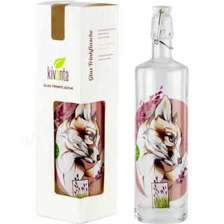 Glasflasche Bügelverschluss Fuchs 750ml