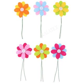 Blume auf Stab 6er