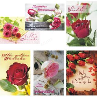 Karten Allgemeine Wünsche Rosen