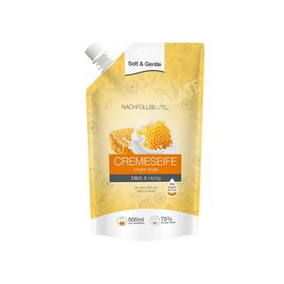 Nachfüllbeutel Cremeseife Honig